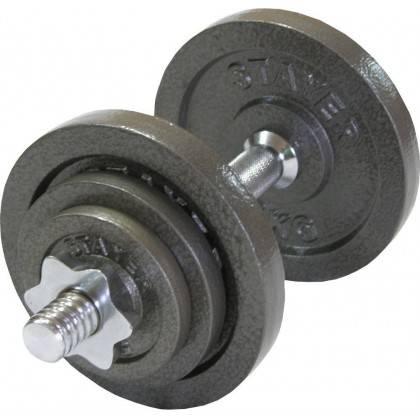 Hantla gwintowana STAYER SPORT 10kg,producent: Stayer Sport, zdjecie photo: 1 | klubfitness.pl | sprzęt sportowy sport equipment