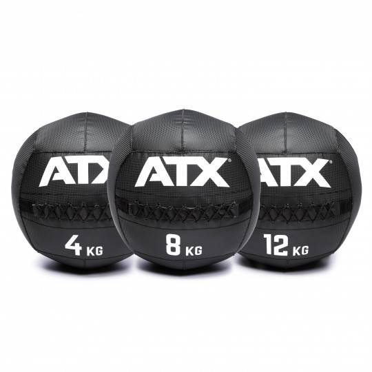 Piłka wall ball ATX® PVC-WB Carbon-Look ATX - 2