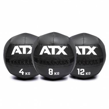 Piłka wall ball ATX® PVC-WB Carbon-Look ATX - 8