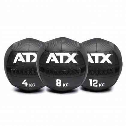 Piłka wall ball ATX® PVC-WB Carbon-Look ATX® - 1   klubfitness.pl
