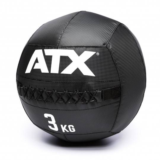 Piłka wall ball ATX® PVC-WB Carbon-Look ATX - 2