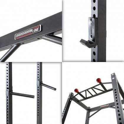 Klatka treningowa full rack Barbarian-Line BB-VP-31000 z wyciągiem,producent: Barbarian-Line, zdjecie photo: 9 | online shop klu