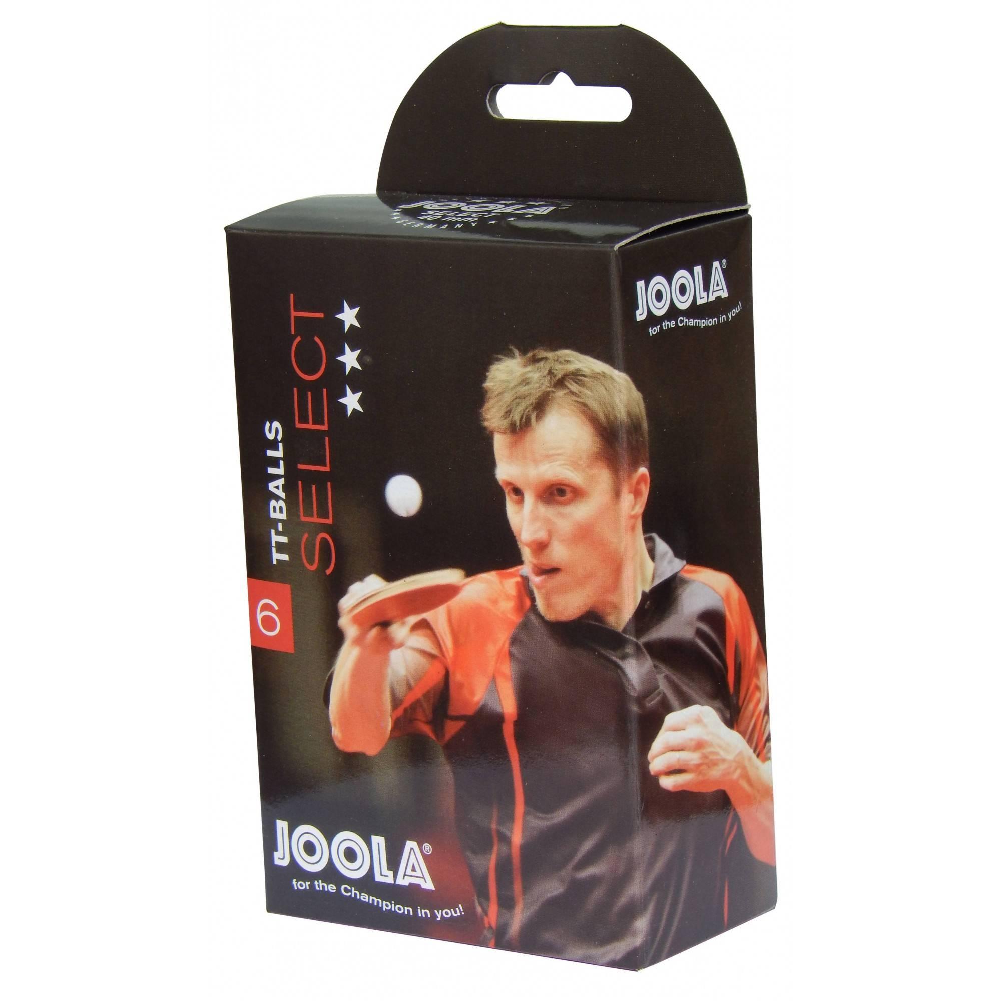 Piłeczki do tenisa stołowego Joola Select *** białe   6szt,producent: Joola, zdjecie photo: 1   online shop klubfitness.pl   spr