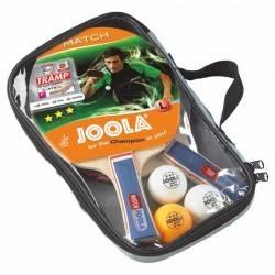Zestaw do gry w tenisa stołowego JOOLA DUO 2 rakietki, 3 piłeczki i pokrowiec Joola - 1 | klubfitness.pl