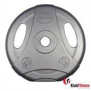 Obciążenie cementowe szare INSPORTLINE 10kg średnica 30mm Insportline - 1 | klubfitness.pl | sprzęt sportowy sport equipment