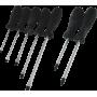 Śrubokręty magnetyczne Kinzo zestaw 7 elementów,producent: Kinzo, zdjecie photo: 1 | online shop klubfitness.pl | sprzęt sportow