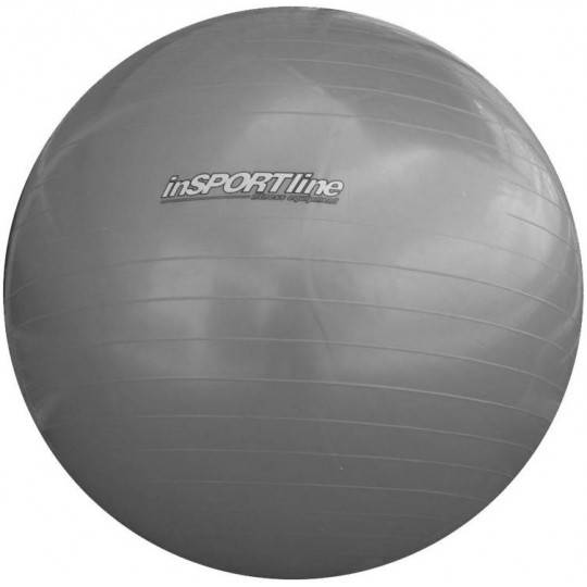 Piłka gimnastyczna gładka 55 cm INSPORTLINE SUPER BALL srebrna,producent: INSPORTLINE, photo: 1