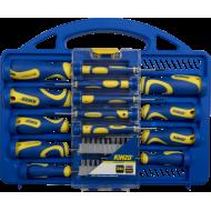 Śrubokręty magnetyczne Kinzo zestaw 34el. w skrzynce,producent: Kinzo, zdjecie photo: 2 | online shop klubfitness.pl | sprzęt sp