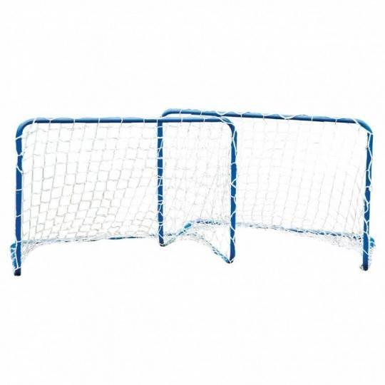 Bramki piłkarskie do gry 78x56x45cm METALOWE 2 sztuki  - 1
