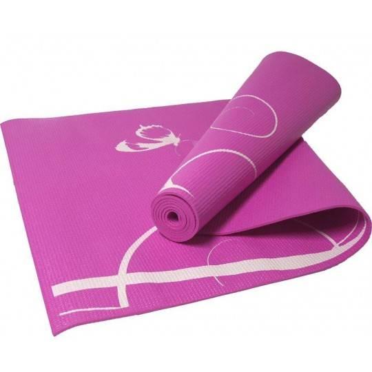 Mata do jogi fitness 170x60x0,4cm SPARTAN SPORT różowa
