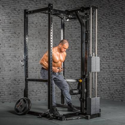 Klatka treningowa z wyciągiem 115kg MegaTec MT-PR-10+LMO-SW Power Rack,producent: MegaTec, zdjecie photo: 12 | online shop klubf