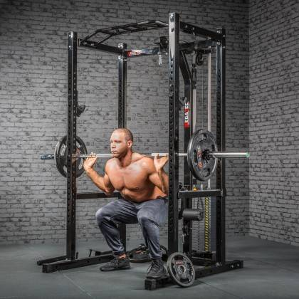 Klatka treningowa z wyciągiem 115kg MegaTec MT-PR-10+LMO-SW Power Rack,producent: MegaTec, zdjecie photo: 13 | online shop klubf
