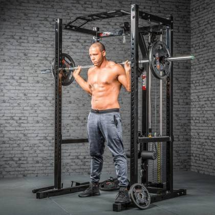 Klatka treningowa z wyciągiem 115kg MegaTec MT-PR-10+LMO-SW Power Rack,producent: MegaTec, zdjecie photo: 14 | online shop klubf