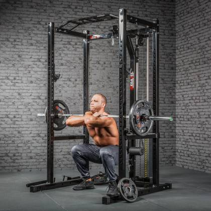 Klatka treningowa z wyciągiem 115kg MegaTec MT-PR-10+LMO-SW Power Rack,producent: MegaTec, zdjecie photo: 15 | online shop klubf