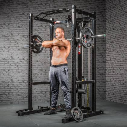 Klatka treningowa z wyciągiem 115kg MegaTec MT-PR-10+LMO-SW Power Rack,producent: MegaTec, zdjecie photo: 16 | online shop klubf