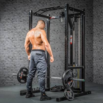 Klatka treningowa z wyciągiem 115kg MegaTec MT-PR-10+LMO-SW Power Rack,producent: MegaTec, zdjecie photo: 17 | online shop klubf