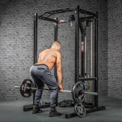 Klatka treningowa z wyciągiem 115kg MegaTec MT-PR-10+LMO-SW Power Rack,producent: MegaTec, zdjecie photo: 18 | online shop klubf