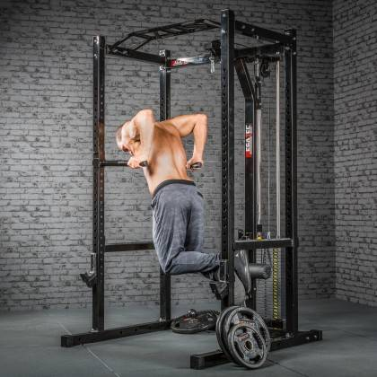 Klatka treningowa z wyciągiem 115kg MegaTec MT-PR-10+LMO-SW Power Rack,producent: MegaTec, zdjecie photo: 19 | online shop klubf