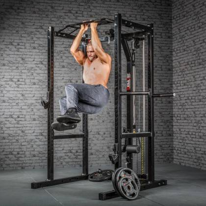 Klatka treningowa z wyciągiem 115kg MegaTec MT-PR-10+LMO-SW Power Rack,producent: MegaTec, zdjecie photo: 21 | online shop klubf