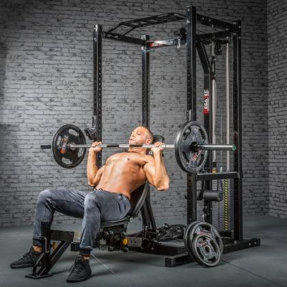 Klatka treningowa z wyciągiem 115kg MegaTec MT-PR-10+LMO-SW Power Rack,producent: MegaTec, zdjecie photo: 22 | online shop klubf