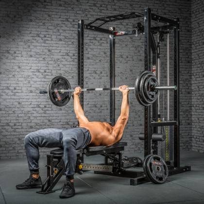 Klatka treningowa z wyciągiem 115kg MegaTec MT-PR-10+LMO-SW Power Rack,producent: MegaTec, zdjecie photo: 23 | online shop klubf