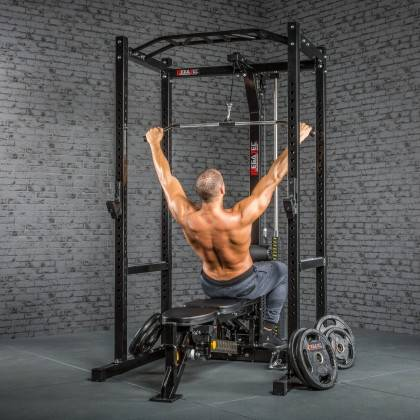 Klatka treningowa z wyciągiem 115kg MegaTec MT-PR-10+LMO-SW Power Rack,producent: MegaTec, zdjecie photo: 24 | online shop klubf