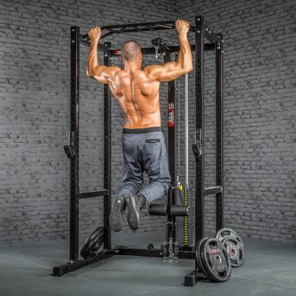 Klatka treningowa z wyciągiem 115kg MegaTec MT-PR-10+LMO-SW Power Rack,producent: MegaTec, zdjecie photo: 25 | online shop klubf