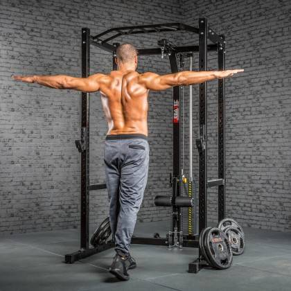 Klatka treningowa z wyciągiem 115kg MegaTec MT-PR-10+LMO-SW Power Rack,producent: MegaTec, zdjecie photo: 26 | online shop klubf