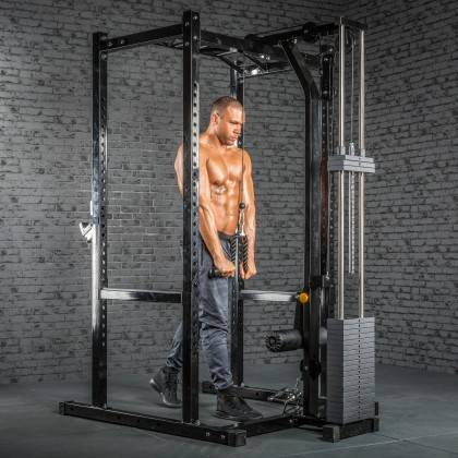 Klatka treningowa z wyciągiem 115kg MegaTec MT-PR-10+LMO-SW Power Rack,producent: MegaTec, zdjecie photo: 27 | online shop klubf
