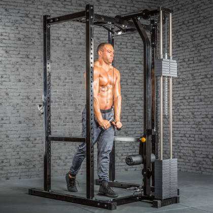 Klatka treningowa z wyciągiem 115kg MegaTec MT-PR-10+LMO-SW Power Rack,producent: MegaTec, zdjecie photo: 28 | online shop klubf