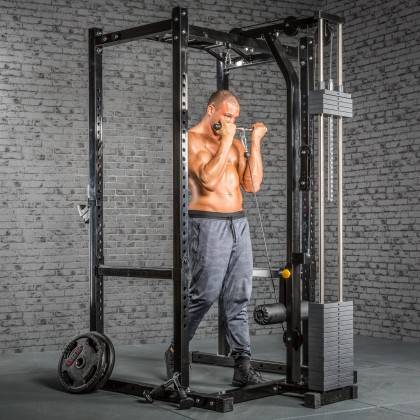 Klatka treningowa z wyciągiem 115kg MegaTec MT-PR-10+LMO-SW Power Rack,producent: MegaTec, zdjecie photo: 29 | online shop klubf