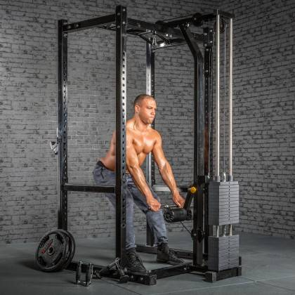 Klatka treningowa z wyciągiem 115kg MegaTec MT-PR-10+LMO-SW Power Rack,producent: MegaTec, zdjecie photo: 31 | online shop klubf