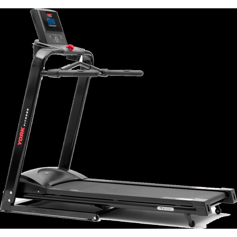 Bieżnia elektryczna YORK FITNESS T-I 1000 prędkość 13km/h,producent: York Fitness, zdjecie photo: 1 | online shop klubfitness.pl