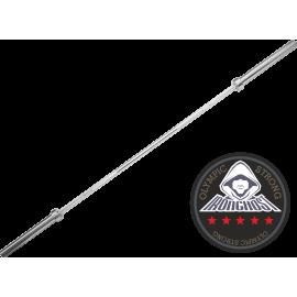 Gryf olimpijski prosty 220cm IRONGHOST PGO-80 wytrzymałość 675kg IRONGHOST - 1