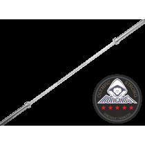 Gryf olimpijski prosty 220cm Ironghost PGO-80 | Power Bar IRONGHOST - 1 | klubfitness.pl