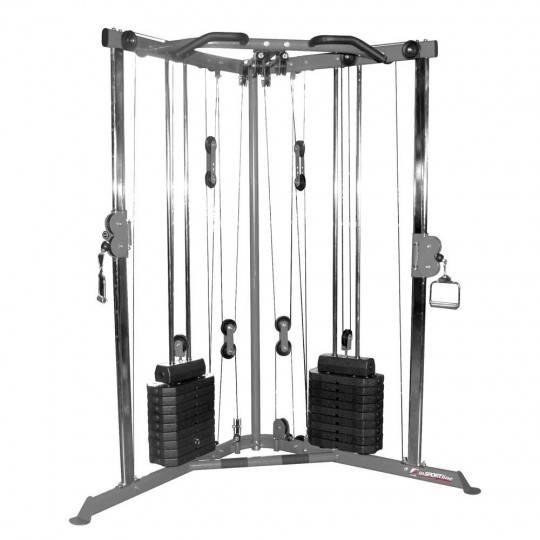 Brama narożna wielofunkcyjna Insportline CC200 ze stosami 2x45kg Insportline - 1