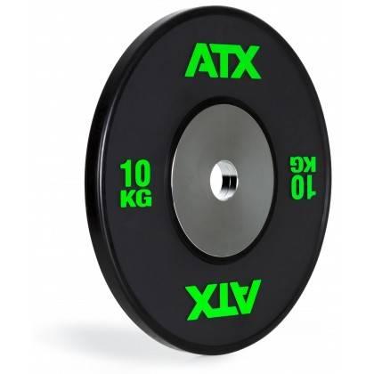 Obciążenie gumowane olimpijskie bumper ATX® 50-HQRB-B   waga: 10kg ÷ 25kg ATX® - 2   klubfitness.pl