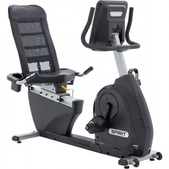 Rower treningowy poziomy Spirit Fitness XBR25 magnetyczny,producent: Spirit-Fitness, zdjecie photo: 1 | online shop klubfitness.