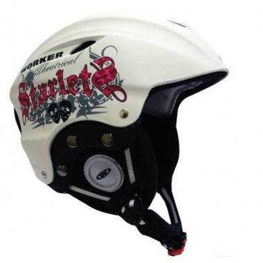 Kask narciarski snowboardowy WORKER PARADISE WHITE STARLET,producent: WORKER, photo: 1