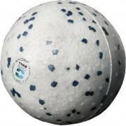 Piłka do masażu OMS BALL 9cm rehabilitacyjna biała  - 1   klubfitness.pl
