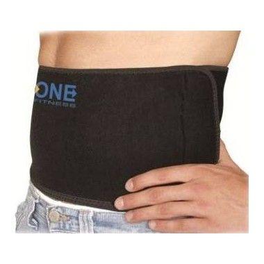 Pas wyszczuplający na brzuch One Fitness BR670 z obszyciem,producent: One Fitness, zdjecie photo: 1