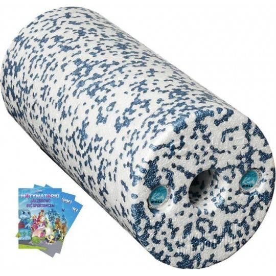 Wałek do masażu dla dzieci OMS KIDS ROLL K1 z książeczką niebieski,producent: , zdjecie photo: 1 | online shop klubfitness.pl |