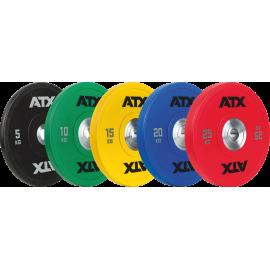Obciążenie ATX® 50-ATX-PUBP Bumper Uretanowe | waga 5kg ÷ 25kg ATX® - 1 | klubfitness.pl