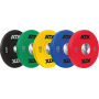 Obciążenie uretanowe olimpijskie bumper ATX® 50-PUBP | waga: 5kg ÷ 25kg ATX - 1 | klubfitness.pl | sprzęt sportowy sport equipme