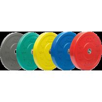 Obciążenie gumowane olimpijskie bumper ATX® 50-CRP | waga: 5kg ÷ 25kg ATX® - 1 | klubfitness.pl