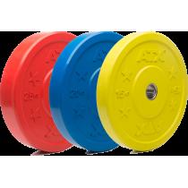 Obciążenie gumowane olimpijskie bumper ATX® 50-CRP | waga: 5kg ÷ 25kg ATX® - 2 | klubfitness.pl