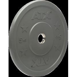 Obciążenie gumowane olimpijskie bumper ATX® 50-CRP | waga: 5kg ÷ 25kg ATX - 13 | klubfitness.pl | sprzęt sportowy sport equipmen