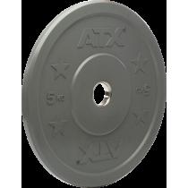 Obciążenie gumowane olimpijskie bumper ATX® 50-CRP | waga: 5kg ÷ 25kg ATX® - 13 | klubfitness.pl