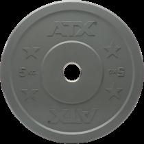Obciążenie gumowane olimpijskie bumper ATX® 50-CRP | waga: 5kg ÷ 25kg ATX® - 14 | klubfitness.pl