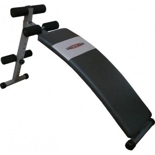 Ławka skośna na mięśnie brzucha Fitness-Pro PRO-800 wygięta,producent: FITNESS-PRO, zdjecie photo: 1